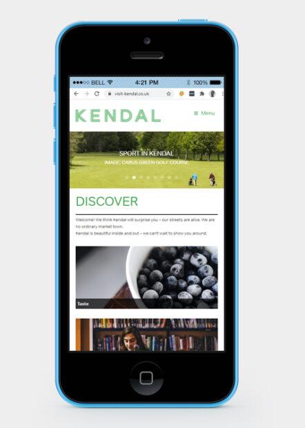 Visit Kendal website